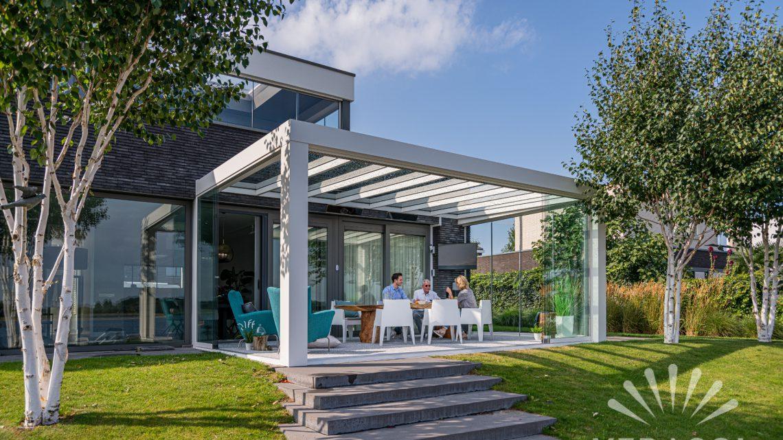 Mit Verasol den Wohnraum im Garten erweitern