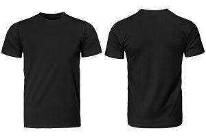 zwart shirt laten bedrukken